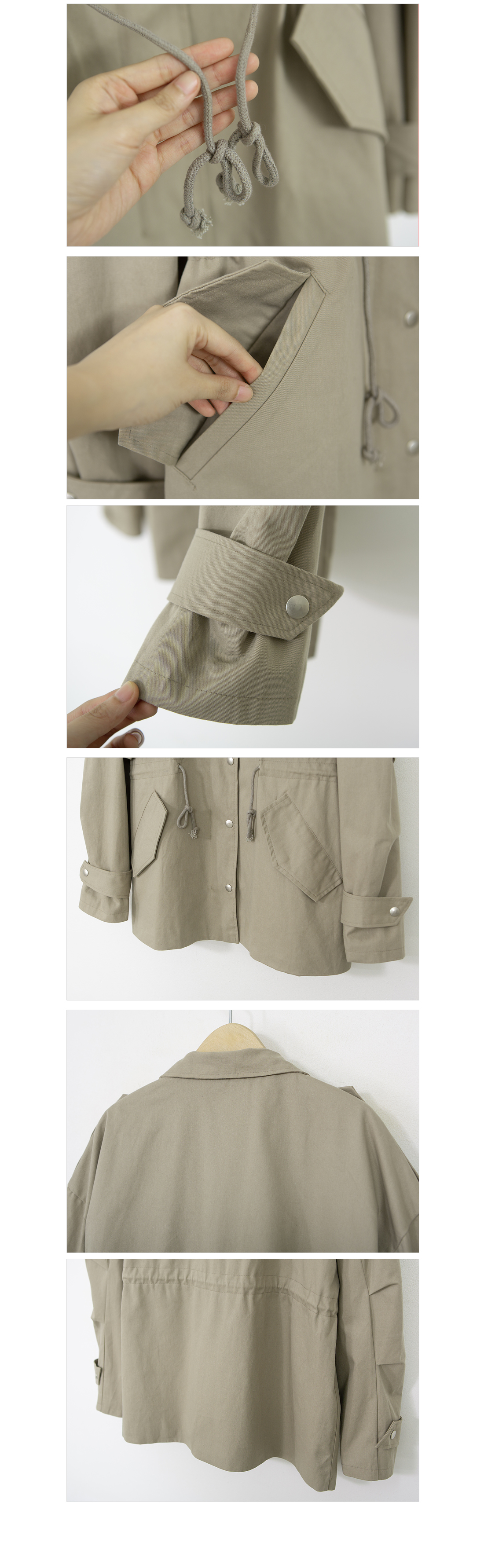 Pocket String Field Jacket #65689