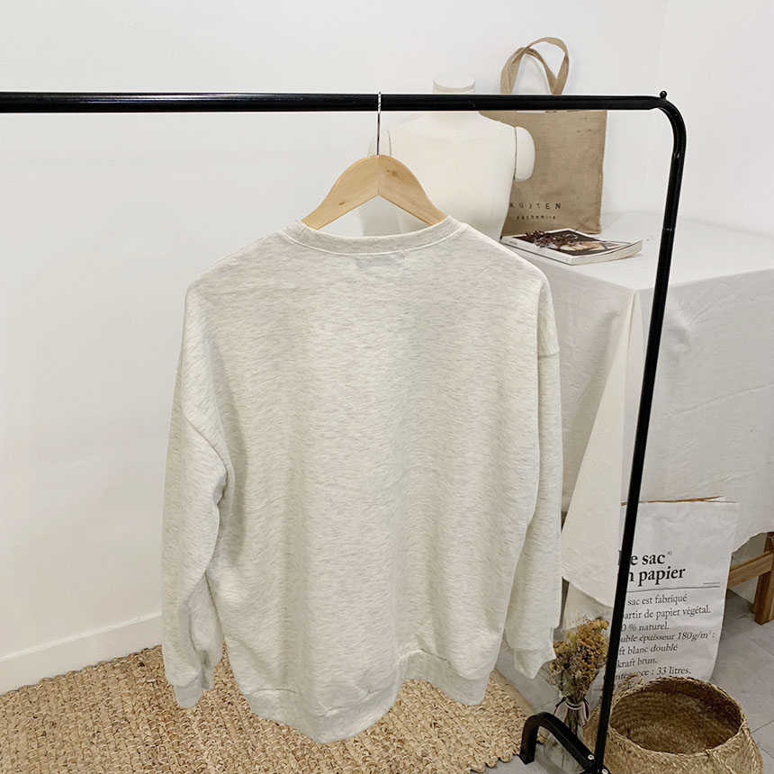 Scatcher plain color round neck one-to-one