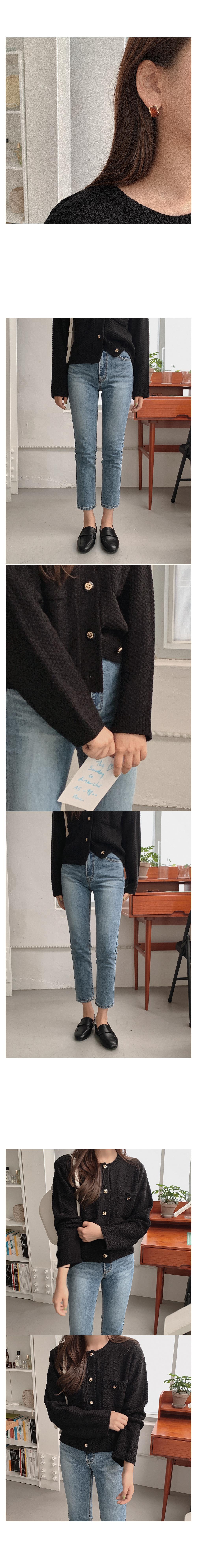 Wiscon button cardigan