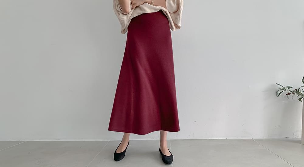 Basic Long Skirt #51189