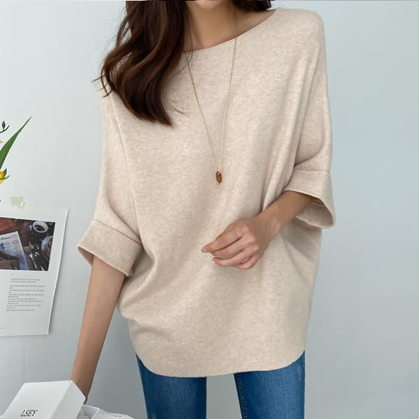 Rachel Lip Neck Knit #108414