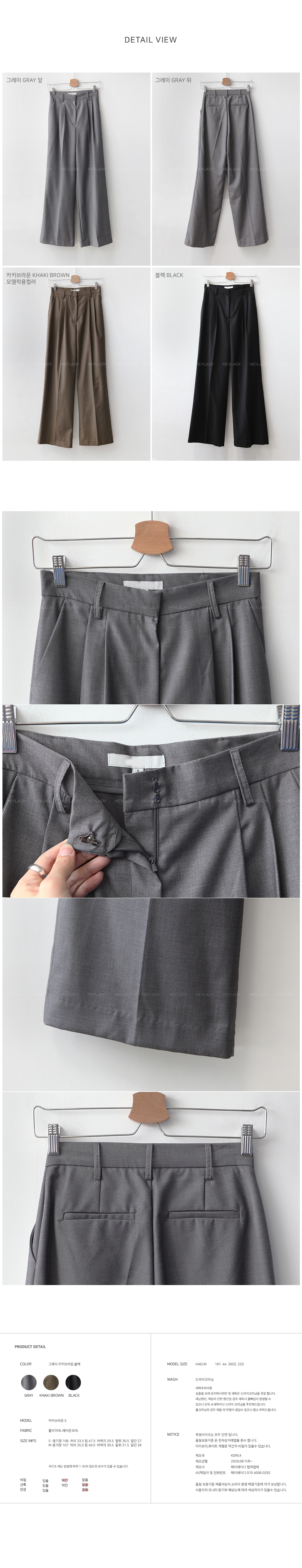 Limiter wide slacks