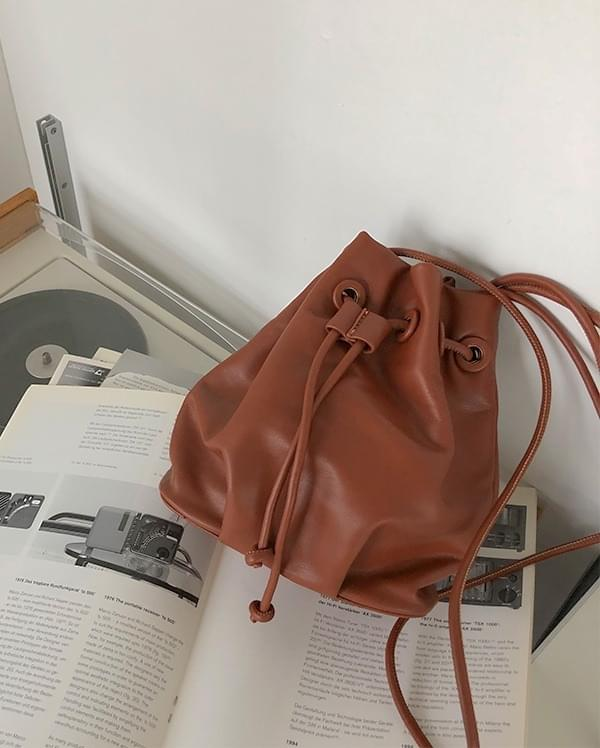 Nuts Leather Mini Shoulder Bag