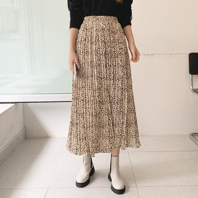 Honestly, it's pretty, the hop-on pleats skirt