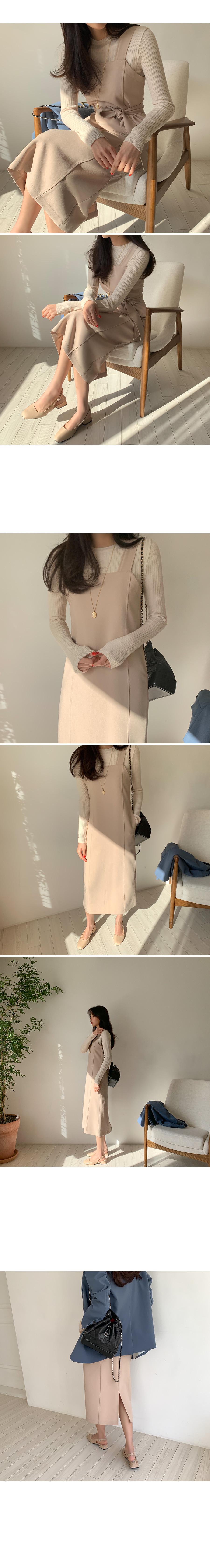 Nintei Simple Long Dress