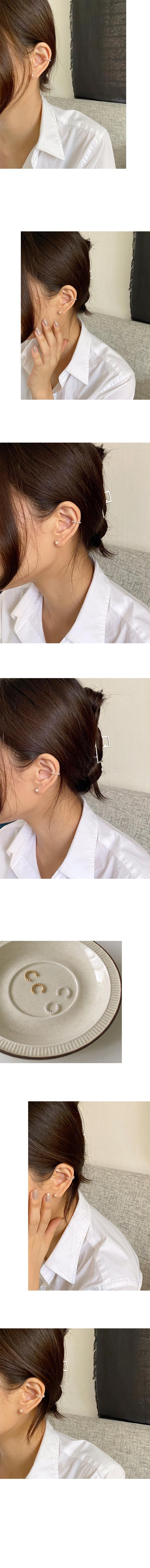 bubble earcuff