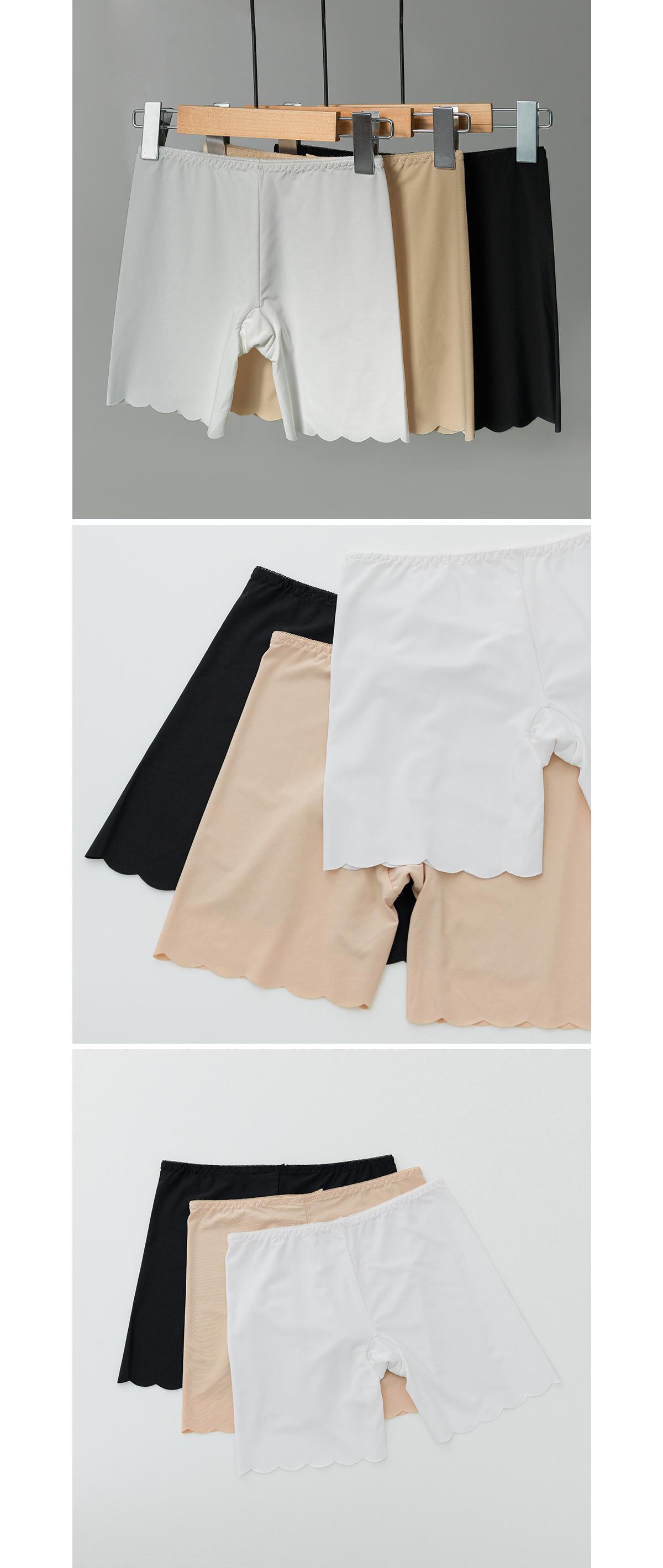Round cut inner pants