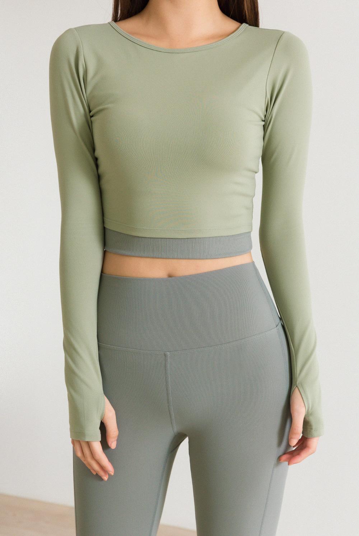 Sportswear T-shirt #010-Crop Top #010