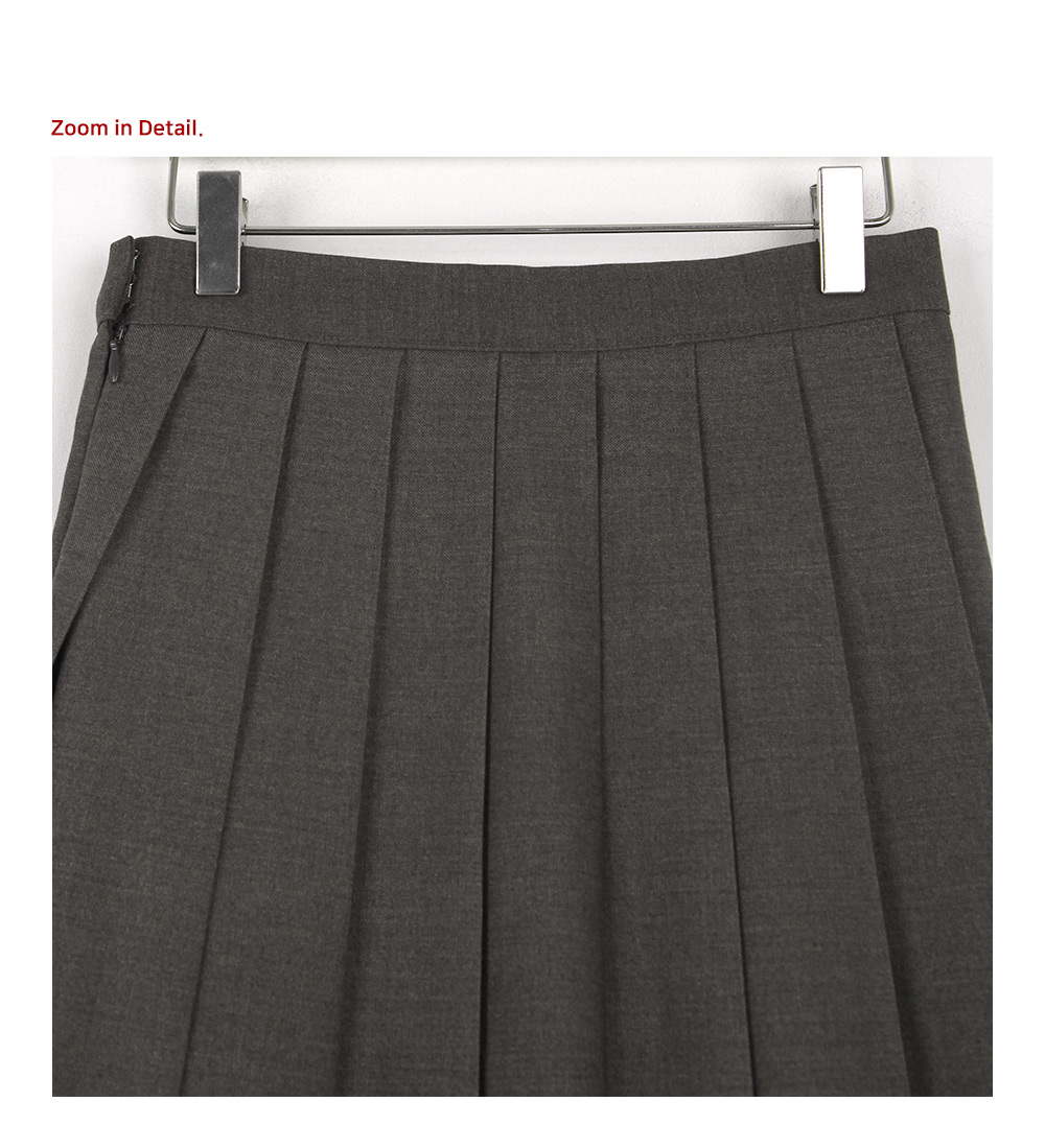 Amy pleated mini skirt