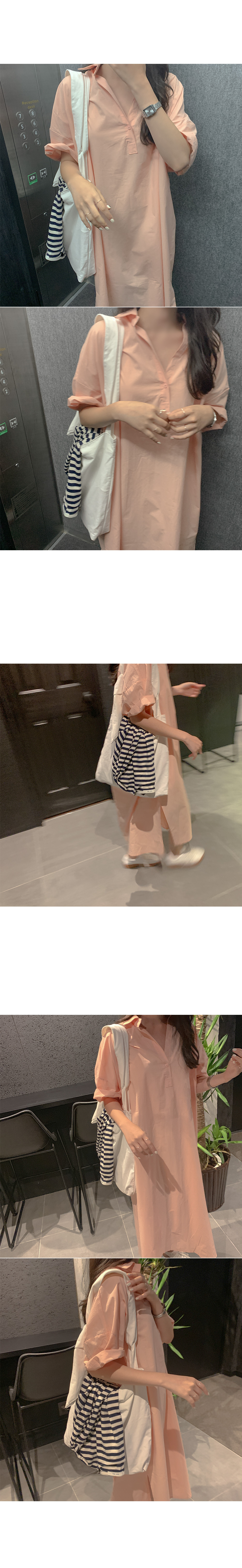 Maru cotton long dress