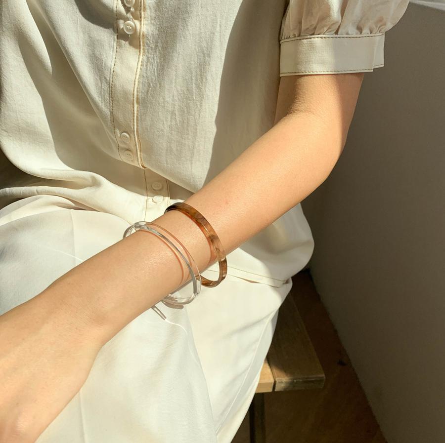 Homica slim bangle bracelet 6color