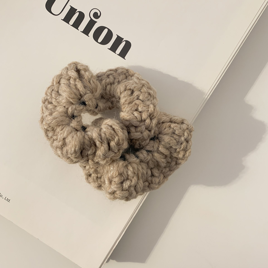 Knit knitting giblets hair band