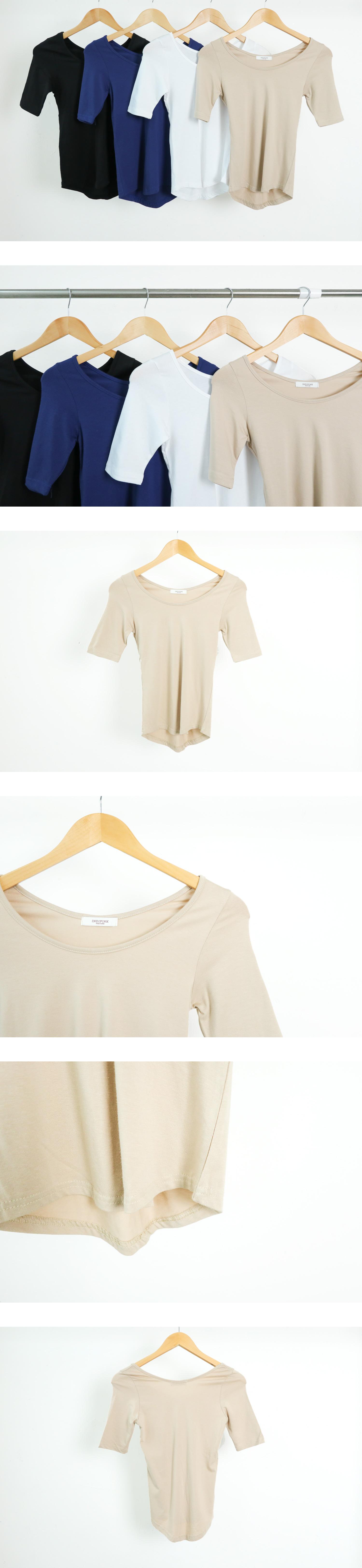 Colmiyu Round Short-sleeved T-shirt