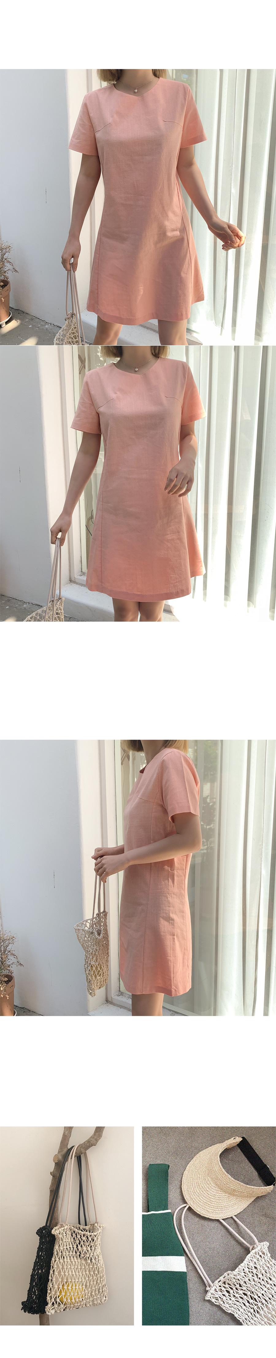 Cas linen dress