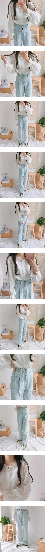 Yojo front button lace blouse