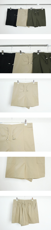 Lucifer string banding shorts