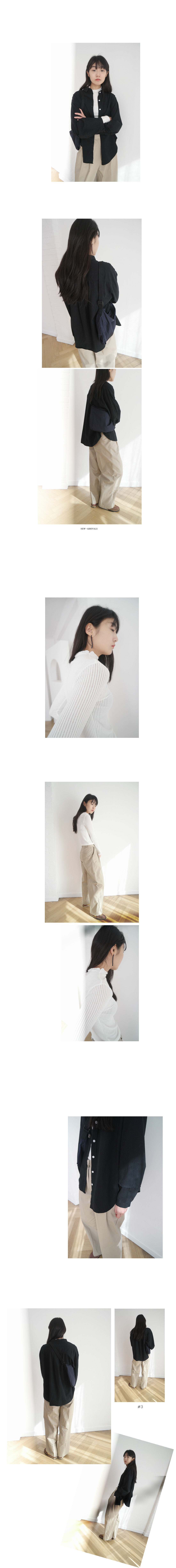 daily slim fit wave top