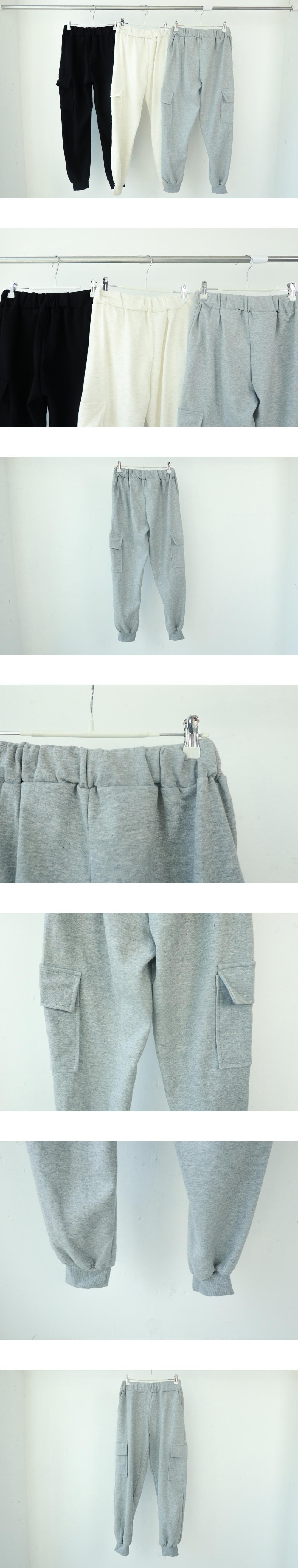 Cotton banding cargo pants