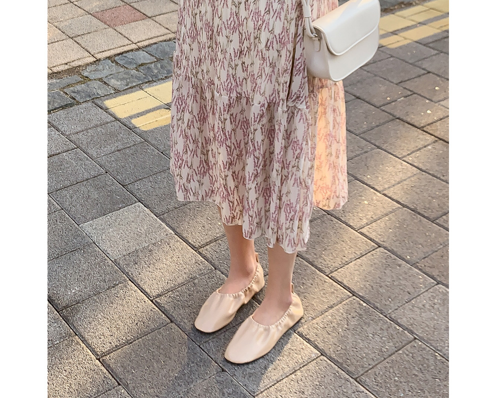 Daily Banding Flat Shoes