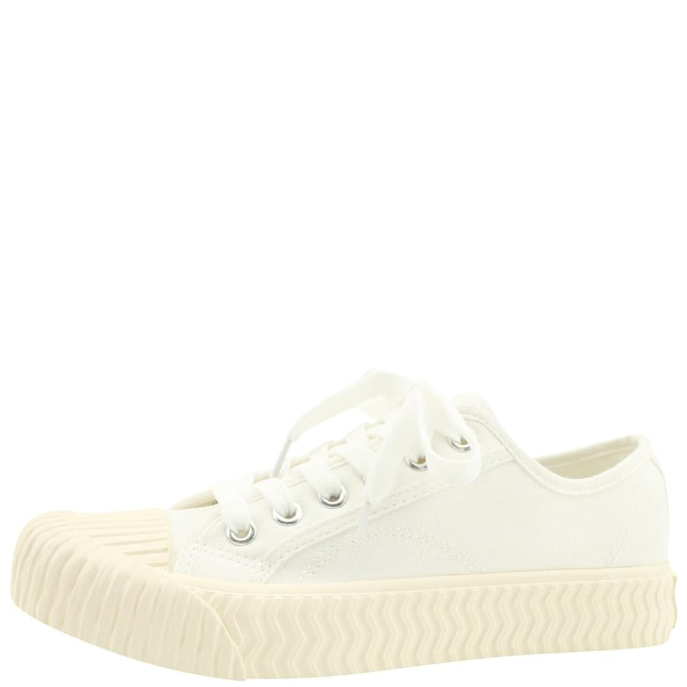 Canvas Painting Pastel Tone Sneakers White