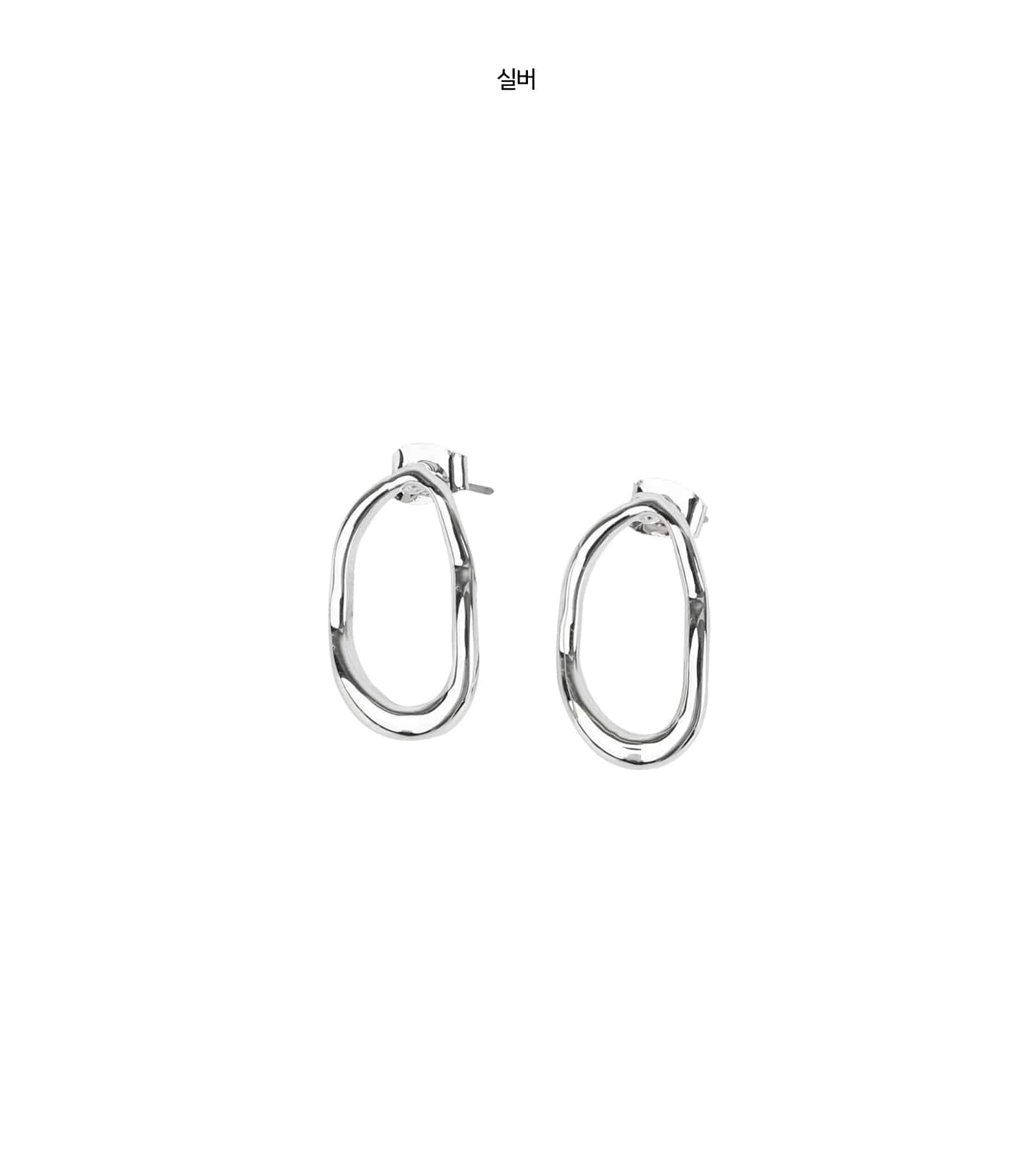 Core drop earrings