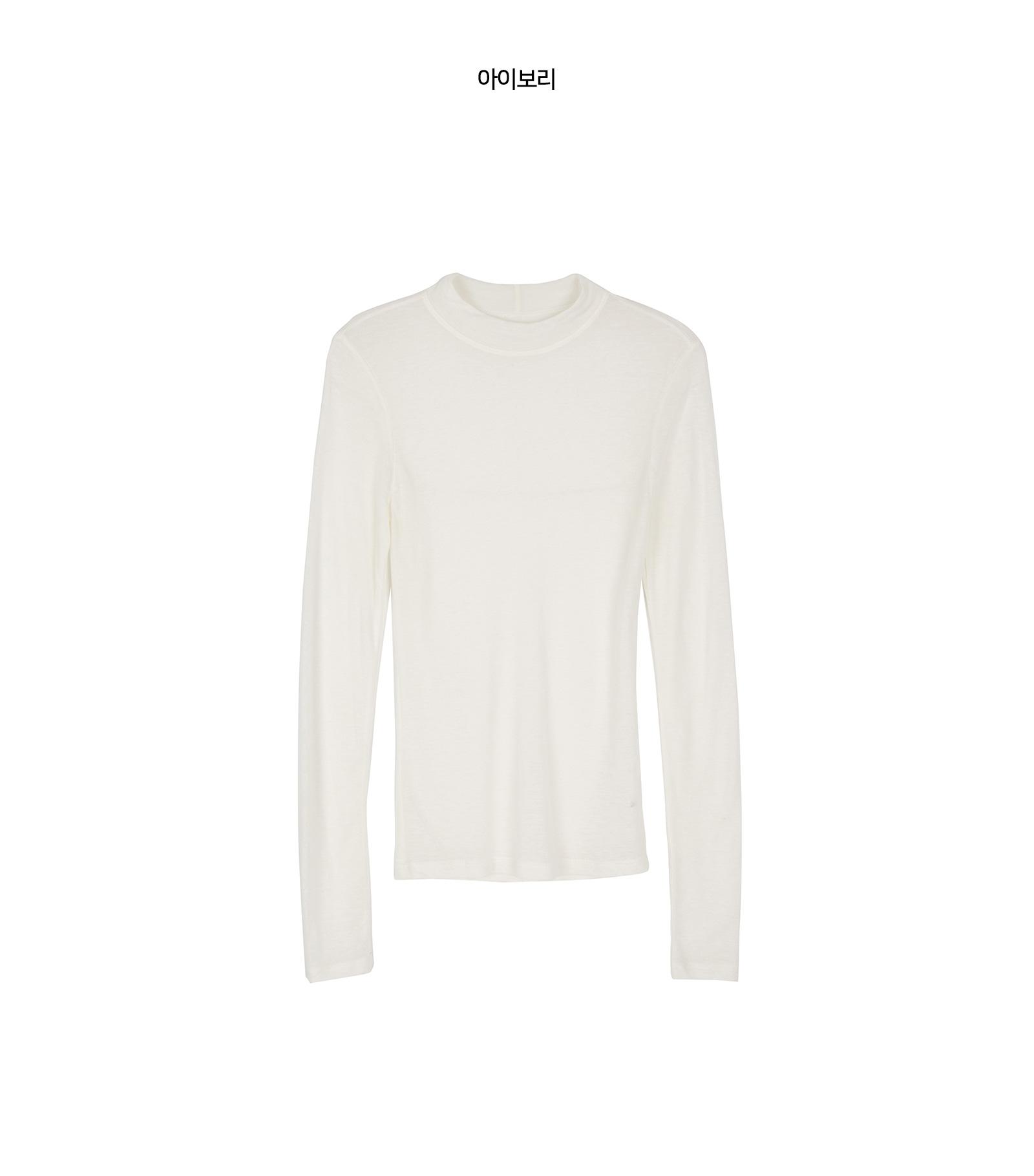 Useful see-through long sleeve T-shirt