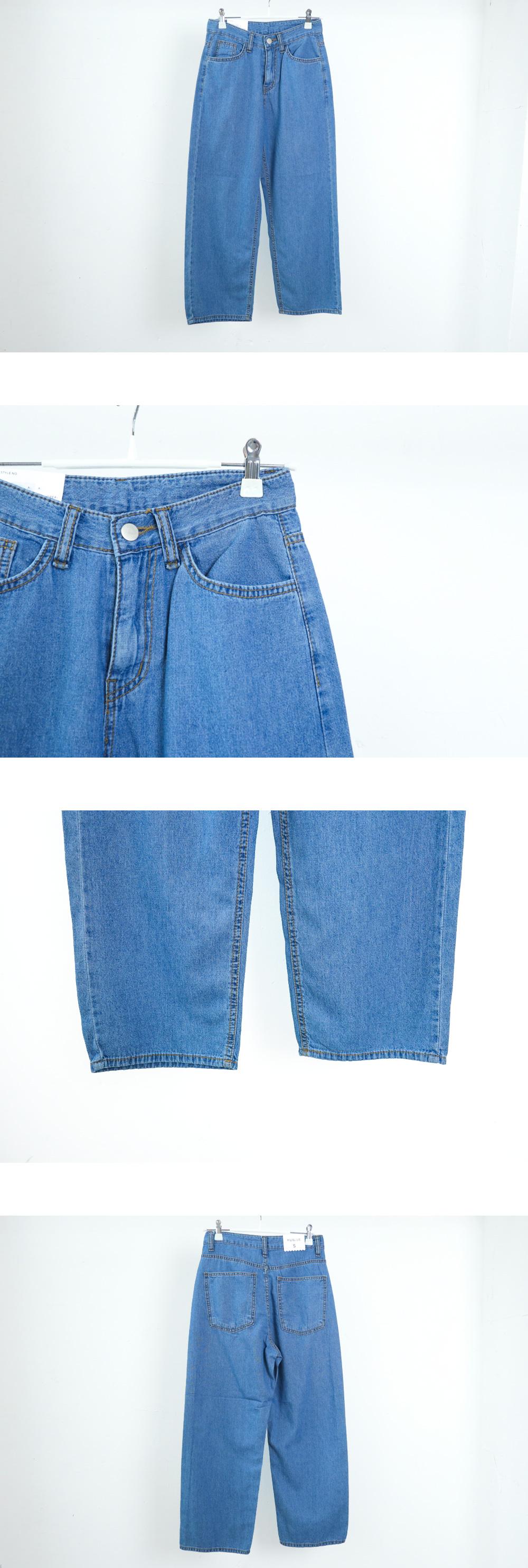 549 Summer 16 Number Wide Denim Pants