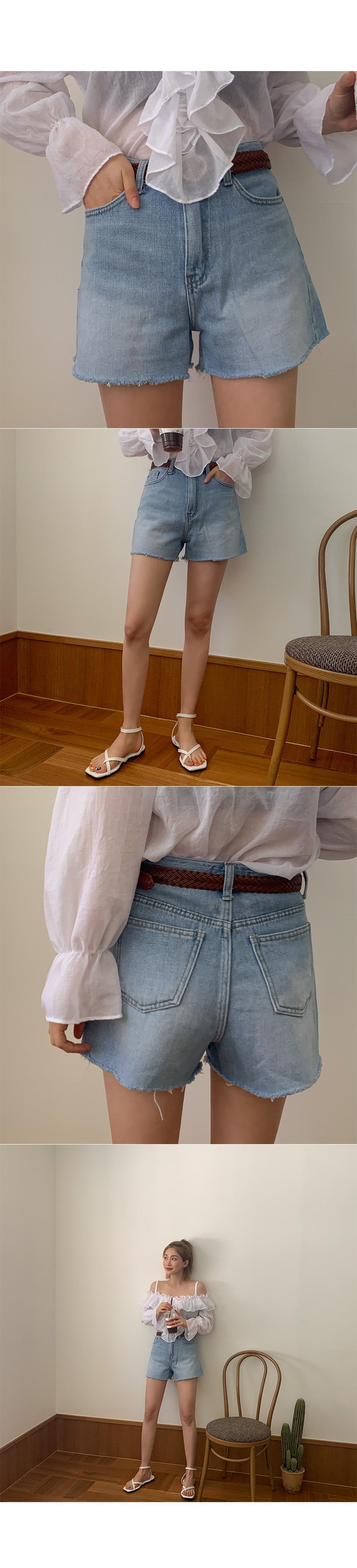 Ed Denim Short Pants