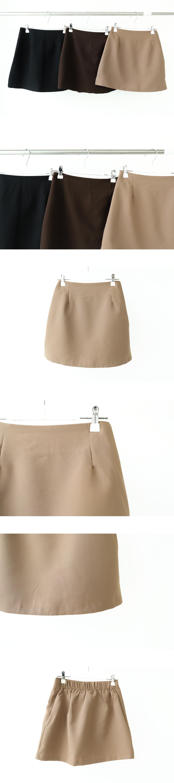 Autumn collaboration mini skirt