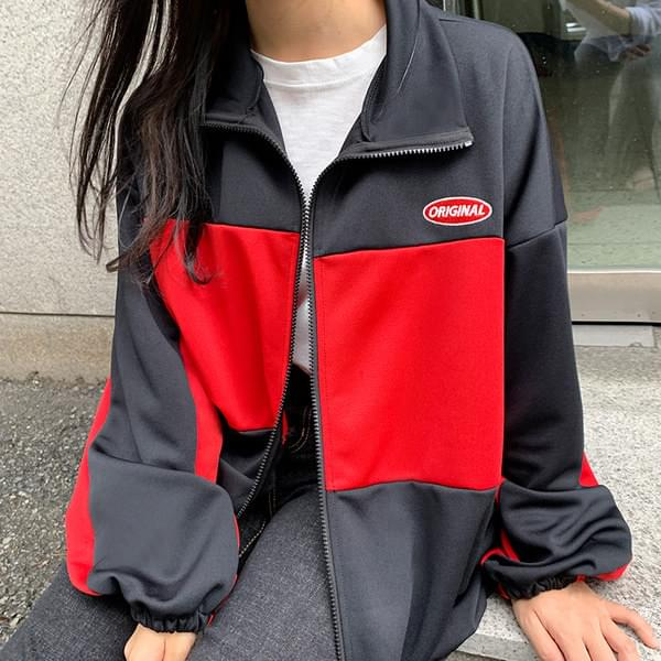 Original color jersey zip_up