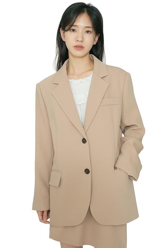 Mode basic single blazer