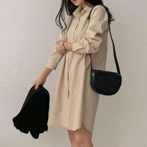 Maureen shirt dress