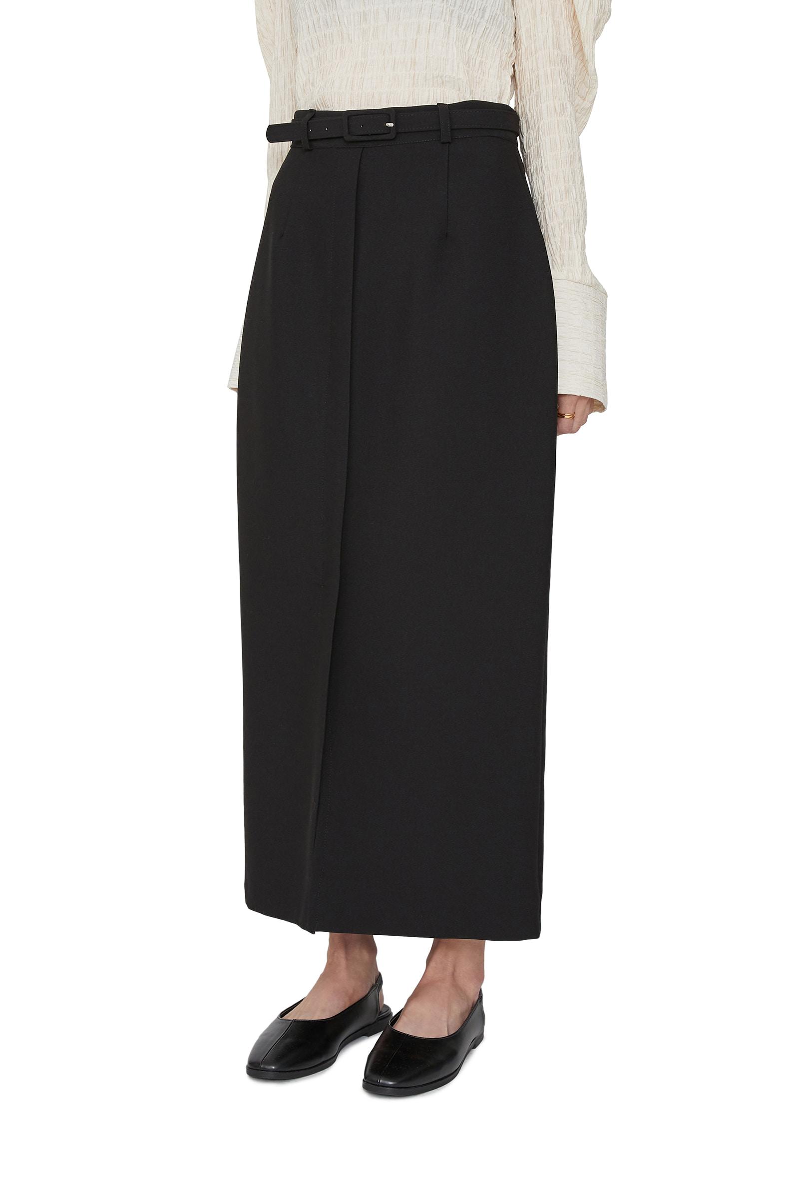 Elin belt set maxi skirt