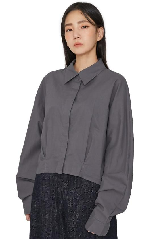 Seeds Pintuck Standard Shirt