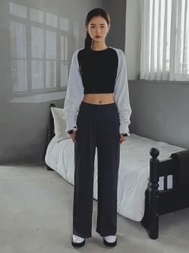 Wide shree banding pants 長褲