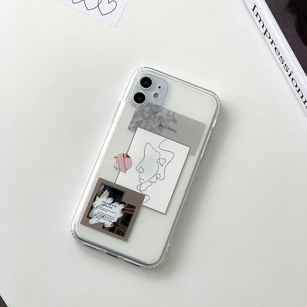Modern poster picture iphone case スマートフォンケース