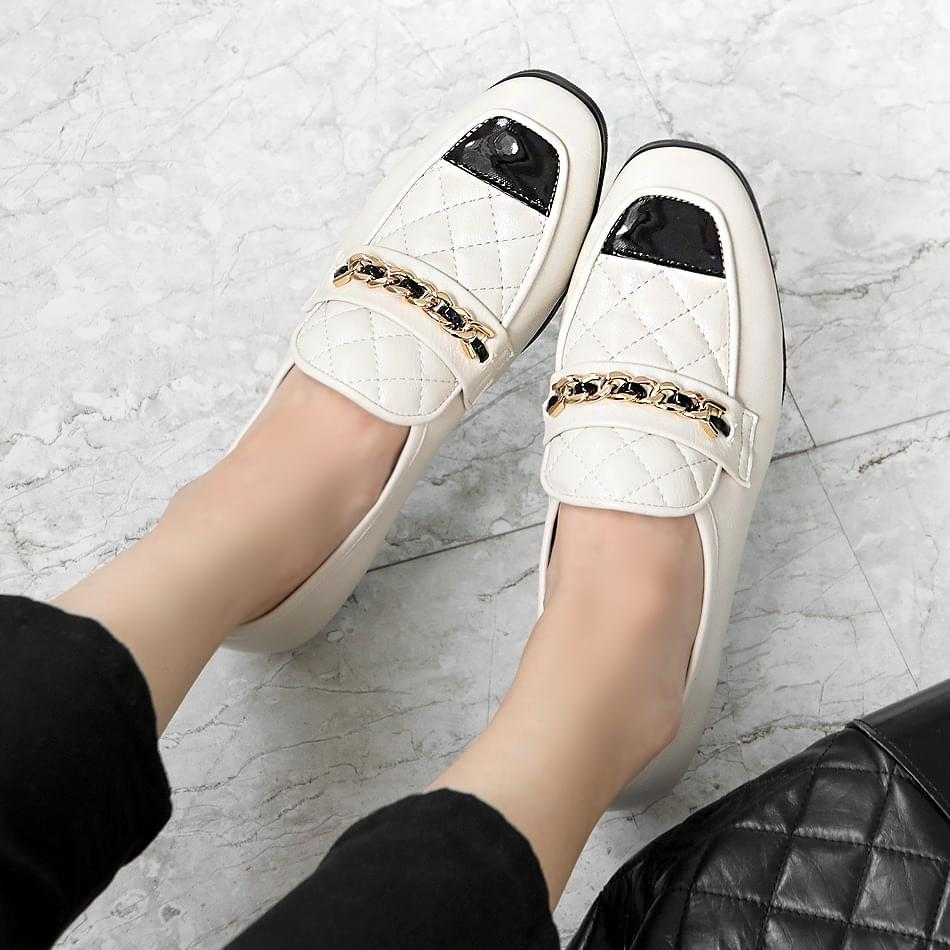 Sevia Qualting Loafers 2cm 樂福鞋