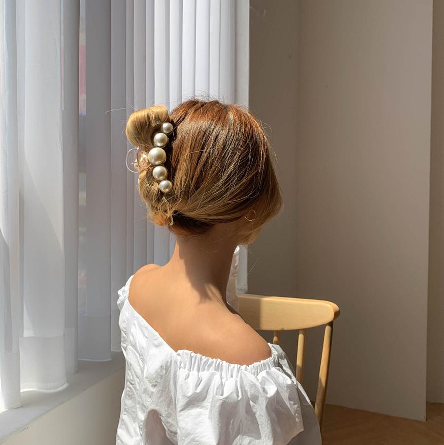 Vandal Pearl Tongs Hairpin Large Size