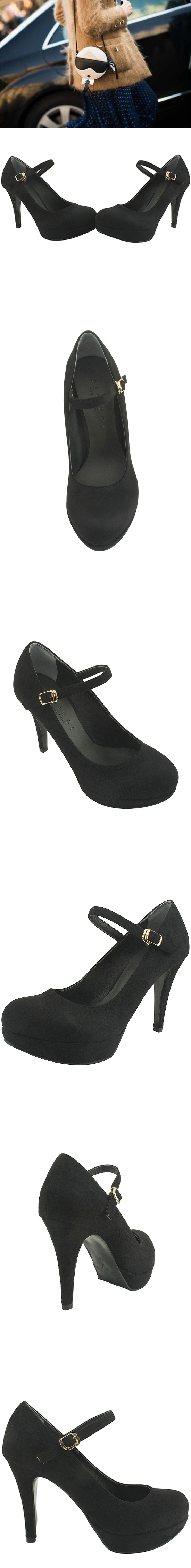 Mary Jane Gabosi High Heels Black