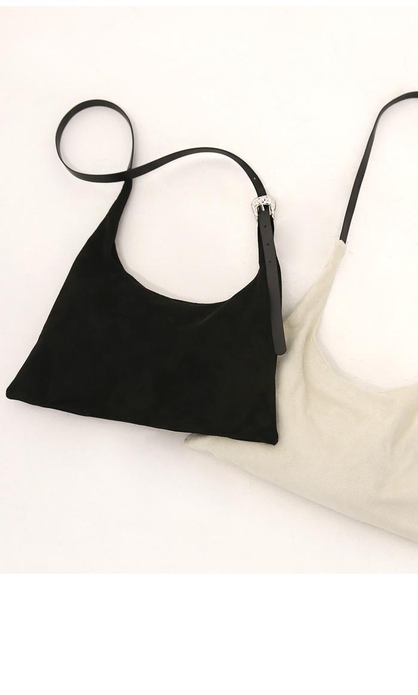 MELLAN SUEDE SHOULDER BAG
