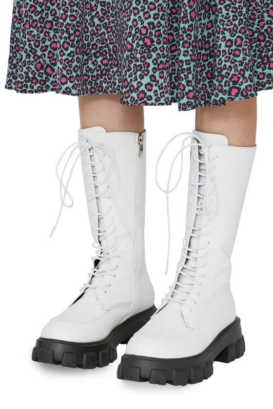 DOMIX lace-up walker boots 靴子