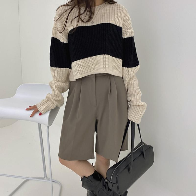 Dangara crop knit