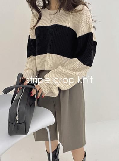 Dangara crop knit