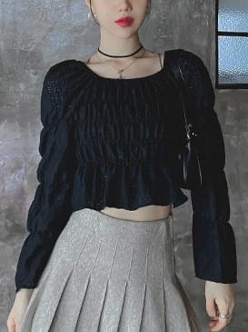 Square mute blouse 襯衫