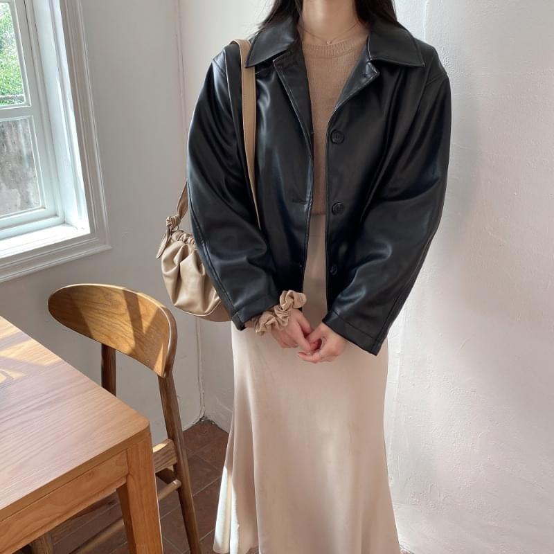 Matildamet leather jacket 夾克外套