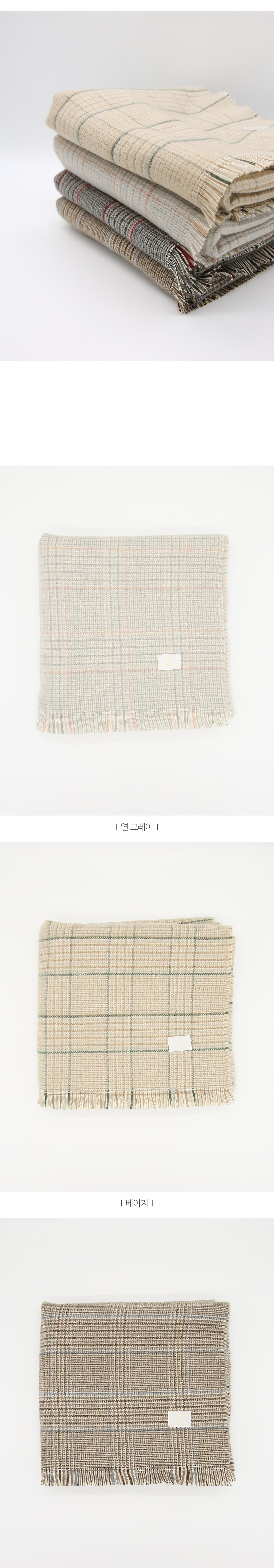 Mood glencheck scarf