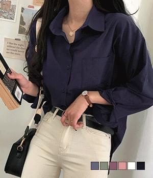 Basic loose fit shirt