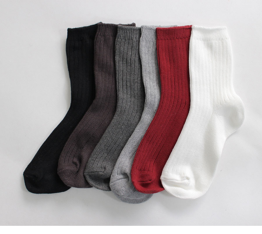Must-Winter Ribbed Socks