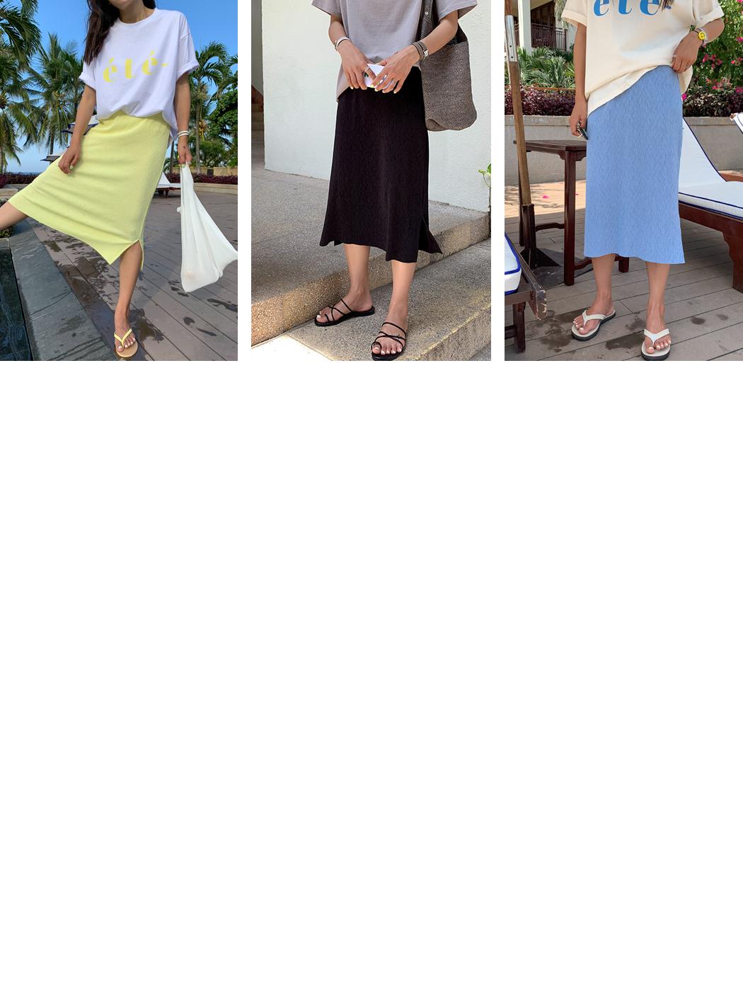 PBP. Wrinkle Precoat Pleated Skirt