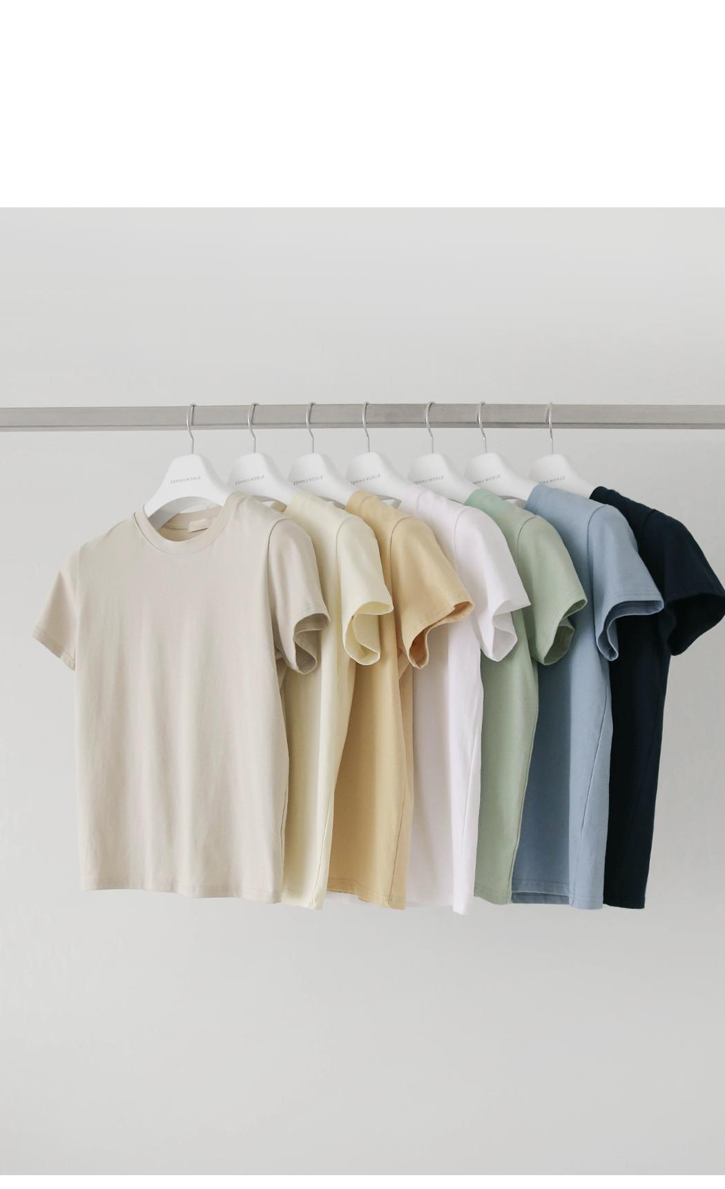 Standard Span Cotton Short Sleeve Tee